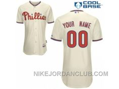 http://www.nikejordanclub.com/customized-philadelphia-phillies-jersey-cream-home-cool-base-baseball-a6hce.html CUSTOMIZED PHILADELPHIA PHILLIES JERSEY CREAM HOME COOL BASE BASEBALL A6HCE Only $60.00 , Free Shipping!