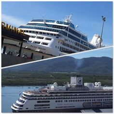 We have a great view of the cruise ship Holland America Line Amsterdam from our harbour view balconies today and Princess Cruises Pacific Princess is also visiting.  What a beautiful sunny day to explore in Cairns!  #Cairns #TNQ #FNQ #ExploreTNQ #PullmanCairnsInternational #VisitCairns #CairnsHoliday #DiscoverQueensland #SeeAustralia #CairnsTours #ThisisQueensland #GreatBarrierReef by pullmancairnsinternational http://ift.tt/1UokkV2