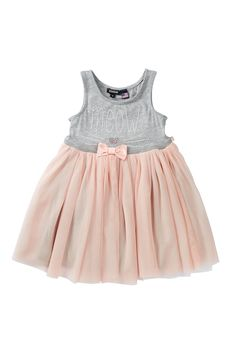 Embellished Dress (Little Girls) by Zunie on @nordstrom_rack