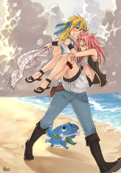 lucy and natsu genderbend