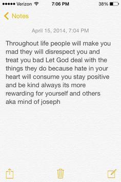Just a thought aka mind of joseph
