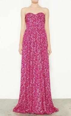 Shimmering Pink Dress.
