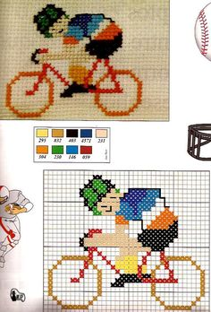 ponto cruz Cross Stitch Numbers, Cross Stitch Cards, Cross Stitching, Cross Stitch Embroidery, Easy Cross Stitch Patterns, Simple Cross Stitch, Cross Stitch Designs, Crochet Projects, Sewing Projects