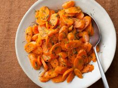 Barefoot Contessa's Sauteed Carrots    Ina makes a 15-minute side dish sure to please. Sweet carrots go perfectly with a little butter and chopped fresh dill.  Get This Recipe        Sauteed Carrots