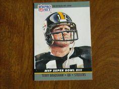 Terry+Bradshaw+QB+Steelers+MVP+Super+Bowl+XIII+Card+No.+13+(FB13)+1990+Pro+Set+Football+Card