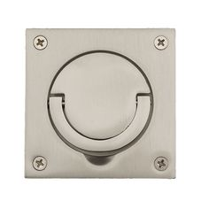 Cast iron flush recessed inset door sliding handle | door handles ...