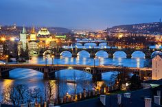 If someone told me I could have a ticket to anywhere in the world, this is where I would go. Prague, Czech Republic, my absolute dream adventure.