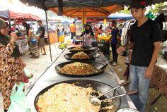 Night market, Langkawi. Image by Isabel Albiston