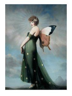 Artwork by Stephen Mackey Vintage Fairies, Vintage Art, Magical Creatures, Fantasy Creatures, Stephen Mackey, Fairy Art, Faeries, Fantasy Art, Fairy Tales