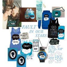 """Fault in our stars"" by clowoodforde on Polyvore #watch #watches"