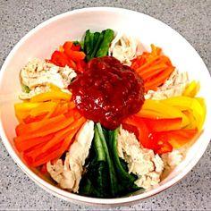 ササミのダイエット料理♡ - 9件のもぐもぐ - ササミのビビンバ♪ by HITOMI6677