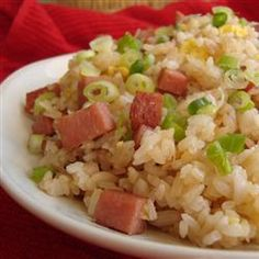 "Island-Style Fried Rice ""Everyone in Hawaii has their own version of fried rice. This is my own version of fried rice that the locals ate in Hawaii."""