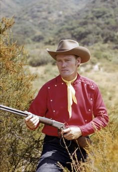 """Chuck Connors by Richard C. Miller (circa 1960).  Actor starred in """"The Rifleman"""" on TV."""