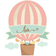 Love Hot Air Balloon: Miss Kate Cuttables