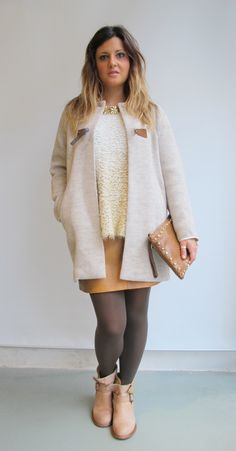 #wilcolook #moda #mujer abrigo #sessun falda #tmx bota #felmini bolso #coboris http://www.miinto.es/shops/b-1040-wilco