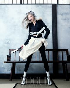 'Martial Arts' Soo Joo by Hyea-Won Kang for Vogue Korea June 2013 [Editorial] - Fashion Copious Foto Fashion, Korea Fashion, Hipster Fashion, Asian Fashion, Fashion News, Fashion Art, Hipster Stil, Moda Hipster, Style Hipster