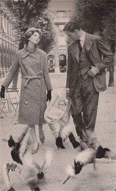 Carmel Snow's Paris Report  Harper's Bazaar September 1957  Model: Suzy Parker  Photography: Richard Avedon