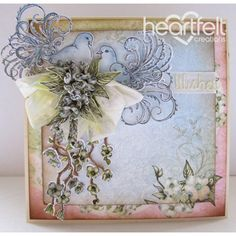 Heartfelt Creations - Flowering Dove Wishes Project
