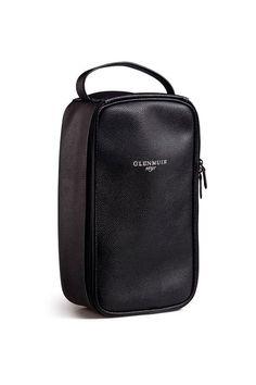 1dd6de33342b7 Mock Pebbled Leather Shoe Bag Leather Shoes, Leather Bag, Pebbled Leather,  Golf Shoes