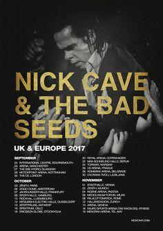 NICK CAVE & THE BAD SEEDS im Herbst 2017 auf großer Europatour [Ankündigungen]  Monkeypress.de