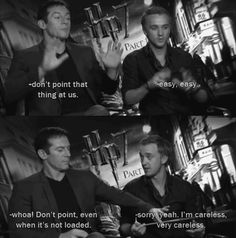 Weapons... with Jason Isaacs and Tom Felton.