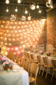 Loft Wedding Reception | photography by http://www.firstcomeslovephoto.com/