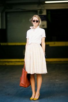 Casual look. New York Fashion Week SS 2014 - Vanessa Jackman Fashion Week, New York Fashion, Look Fashion, Classic Fashion, Classic Style, Womens Fashion, Vanessa Jackman, Looks Street Style, Looks Style