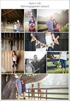 j grace photography featured on i love farm weddings blog - horse farm engagement session