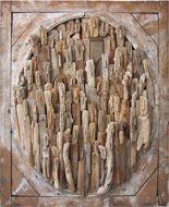 Peinture sculpture and art on pinterest for Sculpture en bois flotte