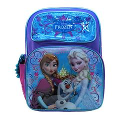 Ruz Disney Frozen Elsa and Anna Backpack Bag -- Check this awesome product by going to the link at the image.