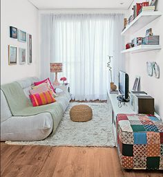 Como decorar uma sala de estar pequena