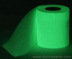 Now you can always find the toilet paper in the dark with the Glow In The Dark Toilet Paper. If you're like me, at least once if happened to you to wake up in the middle of the night and make that long walk in the dark to the bathroom, when we got there, we had two options… either open the light, or struggle in the dark to find what we needed most = the toilet paper. With this ingenious creation from Thumbsup! the toilet paper is glowing in ..