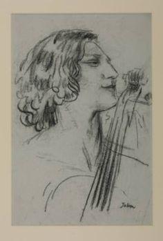 Guilhermina Suggia, por August John