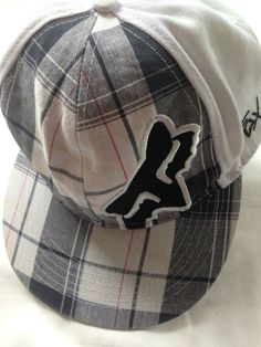 5504b2f0d40 FOX RACING SKATE HAT Cap New Era 59Fifty Sz 7.5 Unstructured FLEXFIT Cotton  Flat