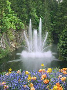 Buchart Gardens, Vancouver BC, Canada