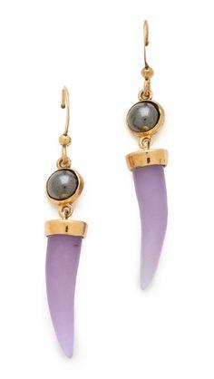 Kelly Wearstler Petite Horn Earrings