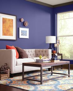 Nobility Blue sure looks good on you. #BEHRPAINT