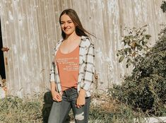 86 Likes, 1 Comments - Kendra 🌿 Fall Layering, Flannels, I Don T Know, Plaid Flannel, Falling In Love, Bring It On, My Favorite Things, My Love, Outfits