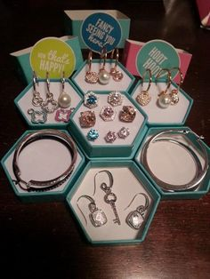 Have you seen the earrings Origami Owl has?
