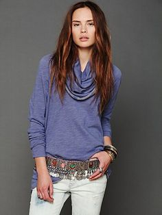 Cocoon Pullover. Looks comfy and I love the color.