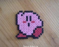 kirby! (hama beads)