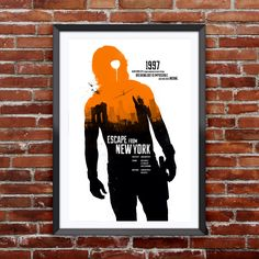 "Escape From New York Movie Poster 12X18"" by Pixology on Etsy https://www.etsy.com/listing/224234392/escape-from-new-york-movie-poster-12x18"