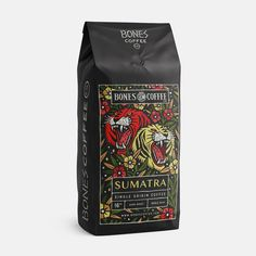 The latest design for . Stoked they are doing some single origin coffee's and I'm diggin' the way this label turned out. Cool Packaging, Food Packaging Design, Wine Packaging, Coffee Packaging, Packaging Design Inspiration, Brand Packaging, Coffee Label, Coffee Logo, Coffee Branding