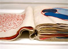 Louise Bourgeois fabric book