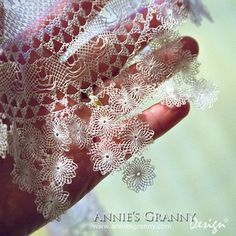 Armenian bebilla lace detail from doily at annie s granny