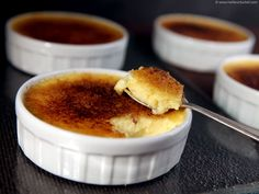 A classic Creme Brulee recipe and a soucon of history of this deliciously mouth-watering French dessert. French Deserts, Classic French Desserts, French Dessert Recipes, French Food, Elegant Desserts, Hot Pot, Traditional French Recipes, Brulee Recipe, Macaron Recipe