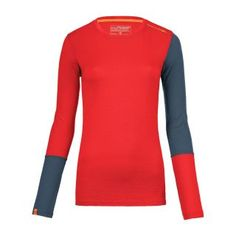 Ortovox 185 RockNWool Long Sleeve T-Shirt Women - hot coral Perfect Wardrobe, Longsleeve, Rock, Wetsuit, Coral, Swimwear, Sweaters, Mens Tops, Women