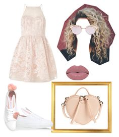 """""""Pretty in Pink"""" by yourfavfashblogger on Polyvore featuring Marc by Marc Jacobs, Lipsy, Minna Parikka, Le Specs and Winky Lux"""