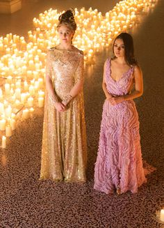 Tuppence Middleton & Mila Kunis in 'Jupiter Ascending' (2015).