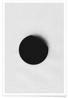 Black 01 als Art Print door LEEMO | JUNIQE